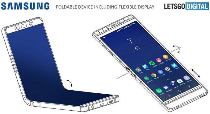 Winner - смартфон со складным корпусом от Samsung (2 фото)