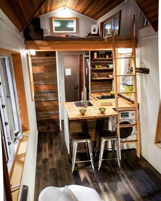 Мобильные дома на колесах (22 фото)