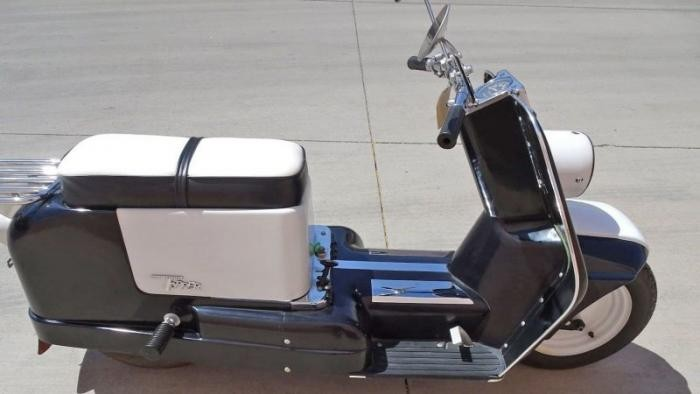 Topper Harley-единственная модель скутера от Harley-Davidson (9 фото)
