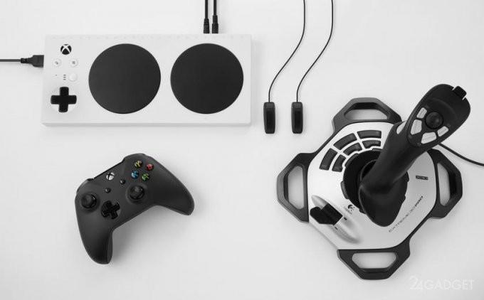 Microsoft представила новый геймпад Xbox Adaptive Controller (9 фото + видео)