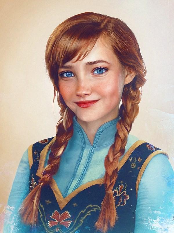 Художник превратил диснеевских персонажей в реальных людей (15 фото)