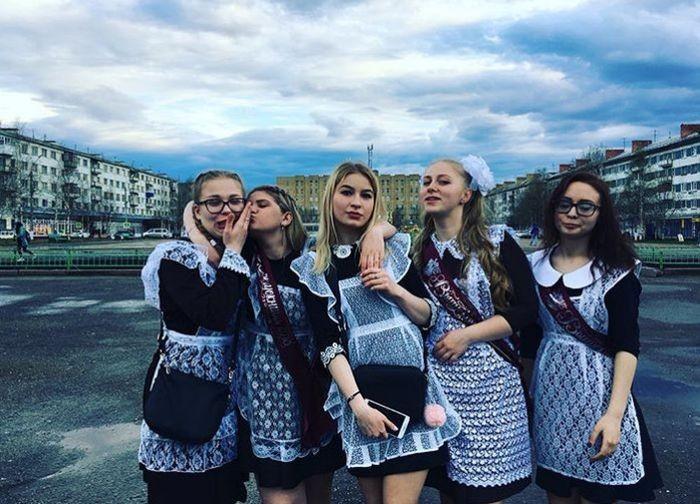 Выпускницы 2018 года (18 фото)