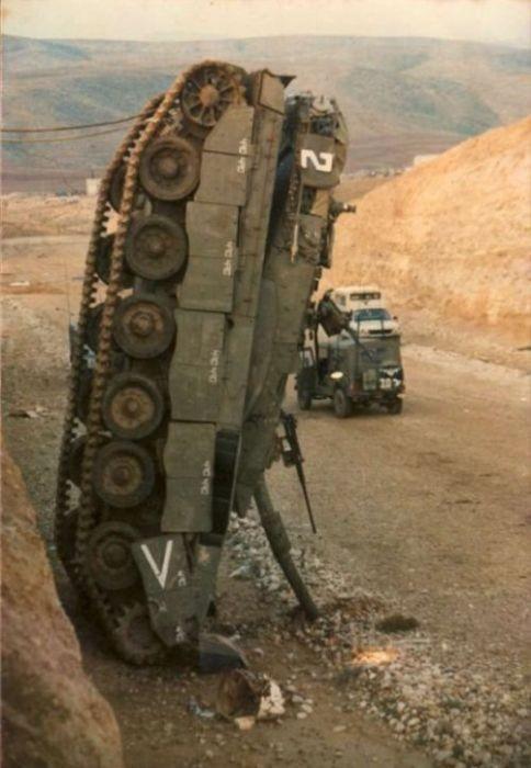 Аварии с танками (28 фото)