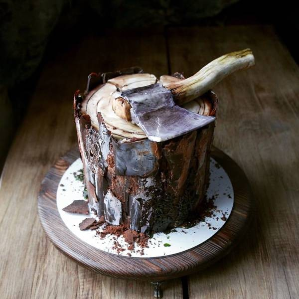 Торты, которые жалко есть (35 фото)