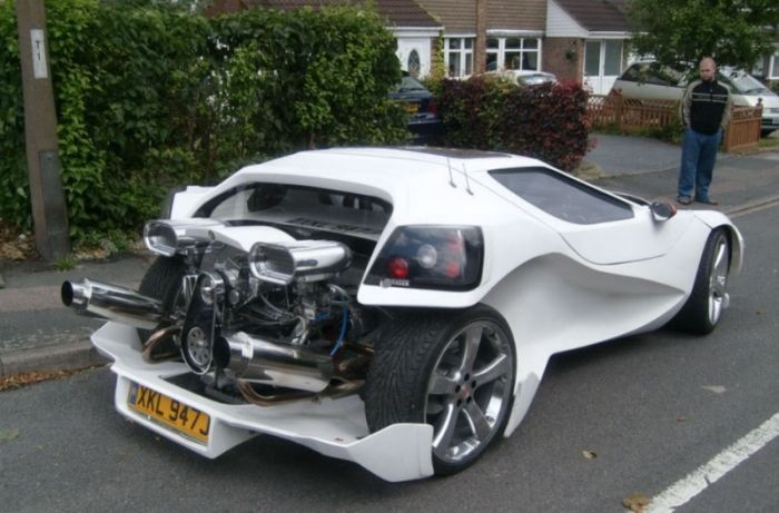 Уникальный спорткар (8 фото