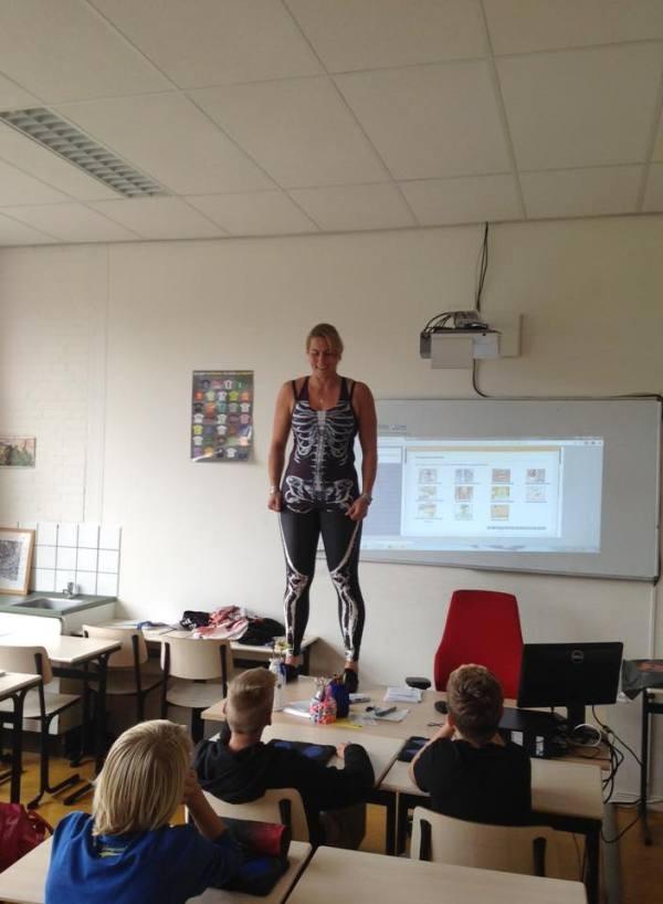 Занятный урок анатомии в школе (3 фото)