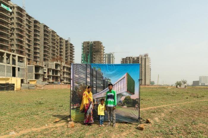 Социальный фотопроект в Индии (9 фото)