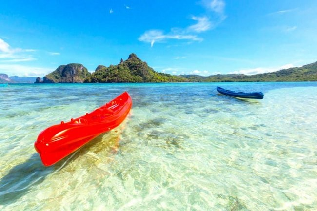 Пляжи с самой прозрачной водой (10 фото)