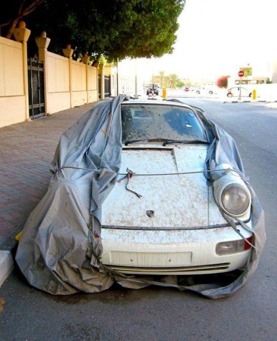 Миф о брошенных автомобилях в Дубае (5 фото)