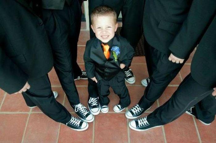 Необычные свадебные фото (29 фото)