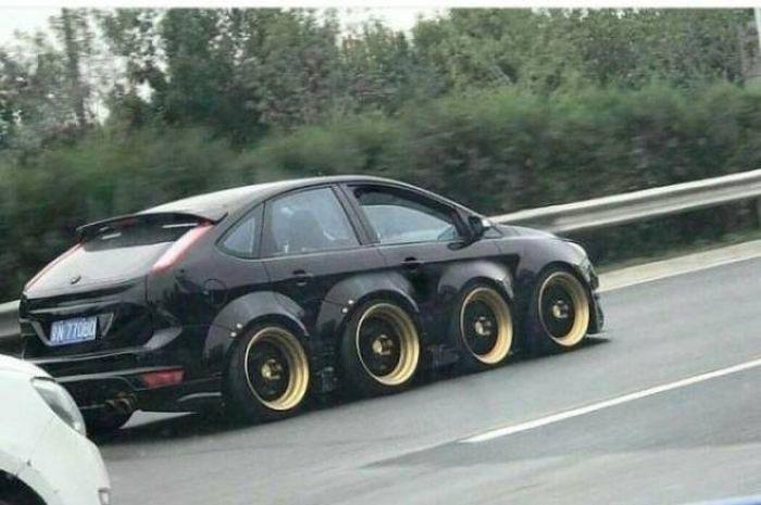 Необычные автомобили (37 фото)