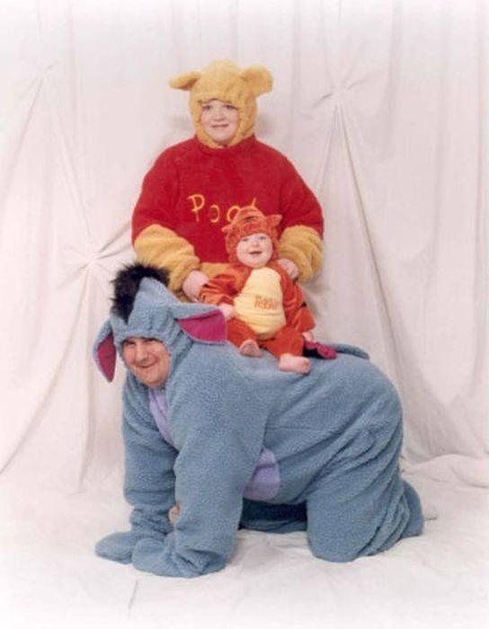 Странные семейные фото (22 фото)