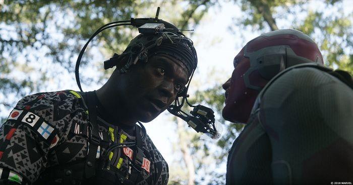 Как создавались спецэффекты «Мстители: Война бесконечности» (22 фото)