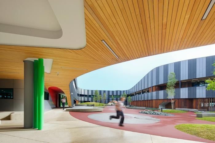 Символ бесконечности в проекте средней школы в Австралии (13 фото)