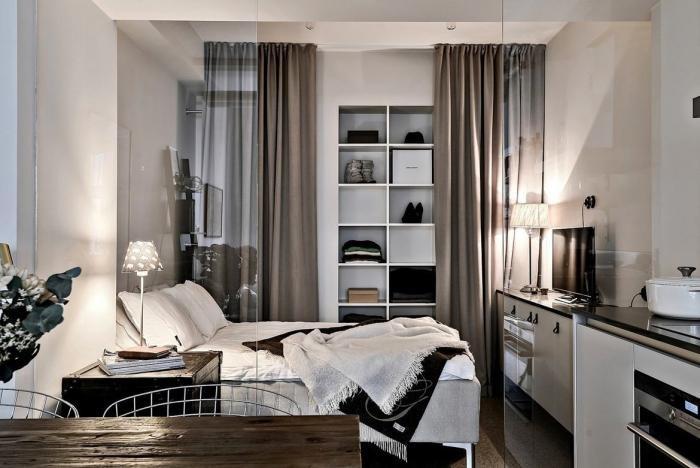 Квартира площадью 33 кв. метра в Гетеборге (9 фото)