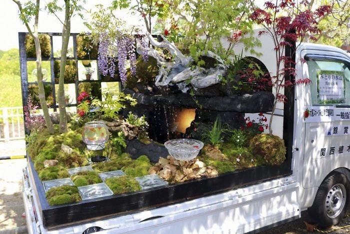 Конкурс садов Kei Truck (25 фото)