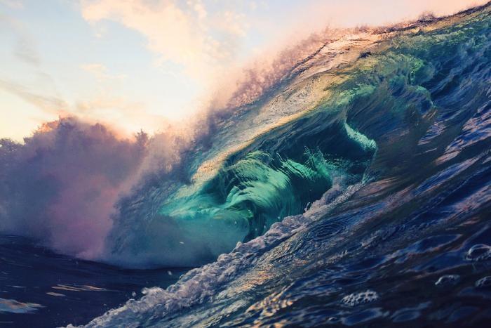 Красота волн в фотографиях (14 фото)