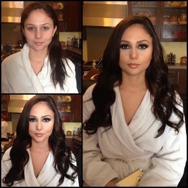 Фотографии моделей плейбоя до и после макияжа (29 фото)