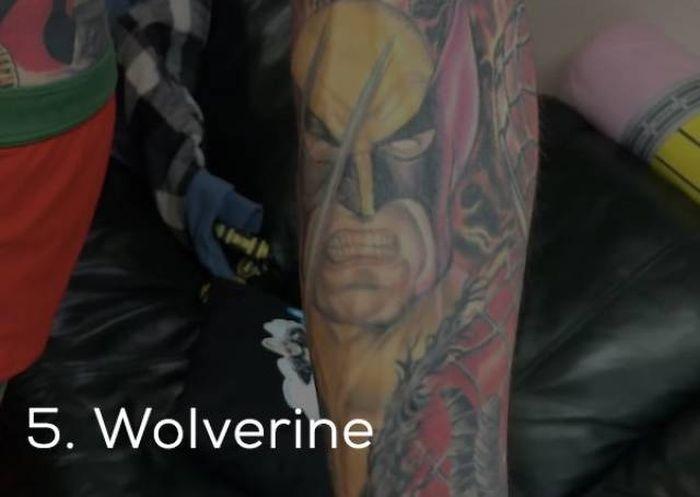 Парень набил на теле рекордное количество татуировок (35 фото)