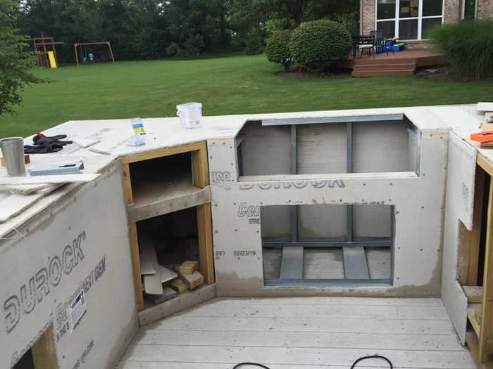Летняя кухня на приусадебном участке (36 фото)