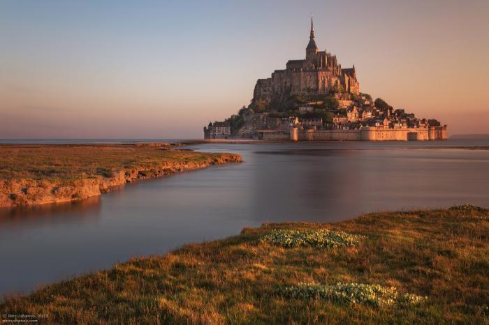 Экскурсия в замок Мон-Сен-Мишель (17 фото)