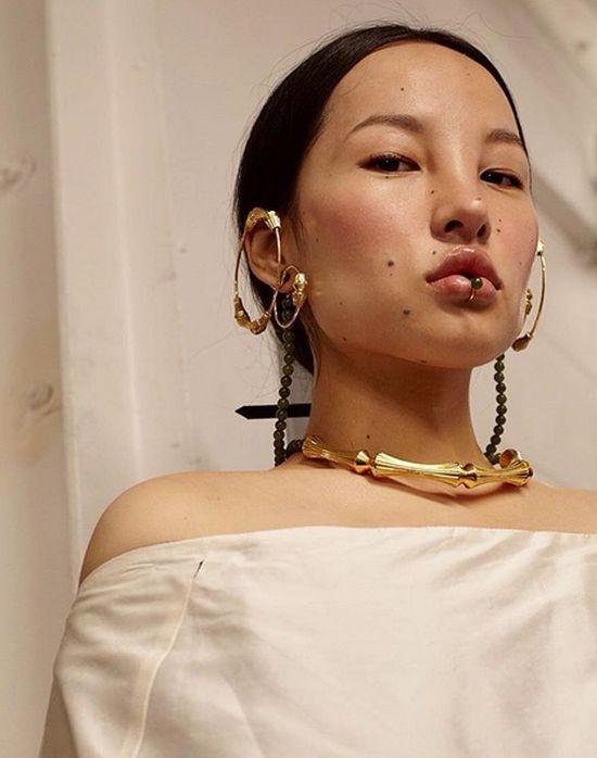 Цунайна - модель с очень необычной красотой (7 фото)