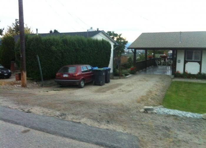 Как не надо скрываться с места ДТП (3 фото)