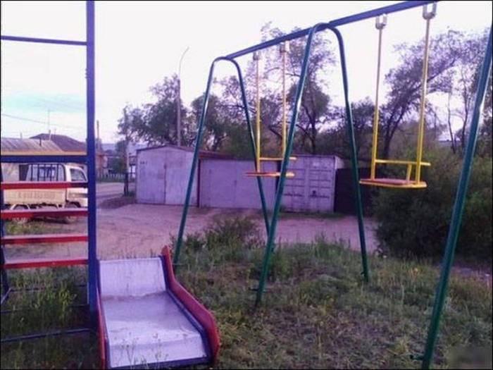 Фото, которые можно сделать только в Росии (38 фото)