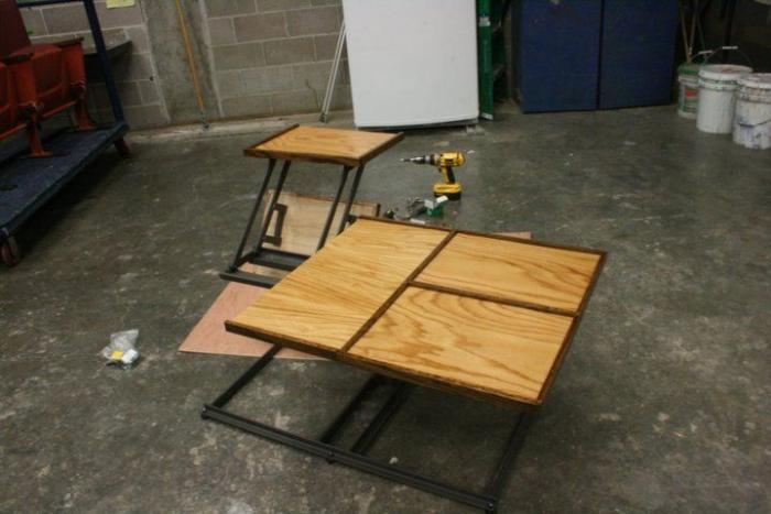 Отличная идея для столика (7 фото)