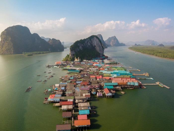 Ко Паньи – деревня на воде в Таиланде (10 фото)