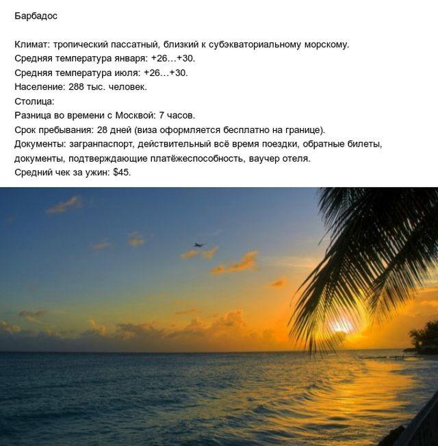 Страны, для путешествия в которые россиянам не нужна виза (20 фото)