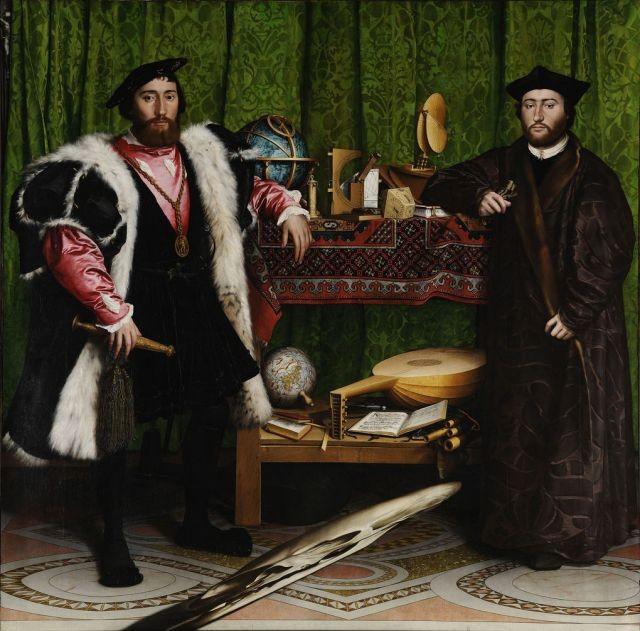 Оптическая иллюзия, созданная художником в 1533 году (5 фото)
