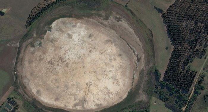 Находка на картах Google Earth (4 фото)