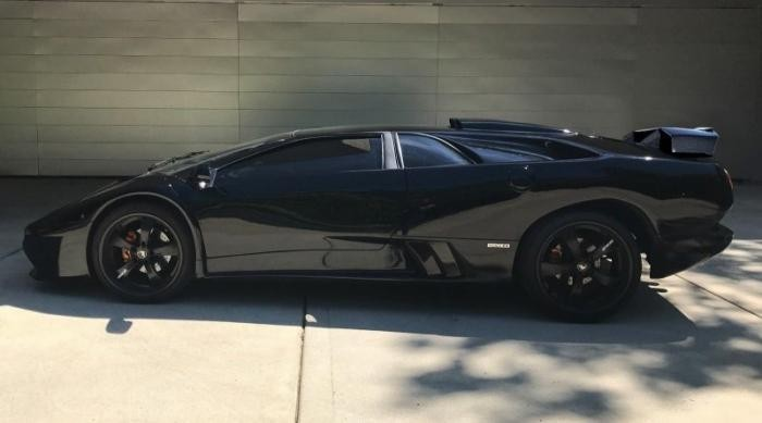 Реплика Lamborghini Diablo построенная на базе Honda (14 фото)