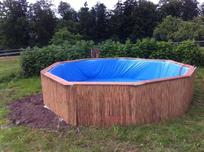 Экономный вариант бассейна своими руками (6 фото)