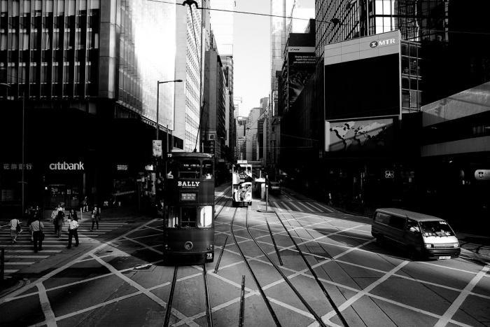 Черно-белые фото Гонконга (23 фото)