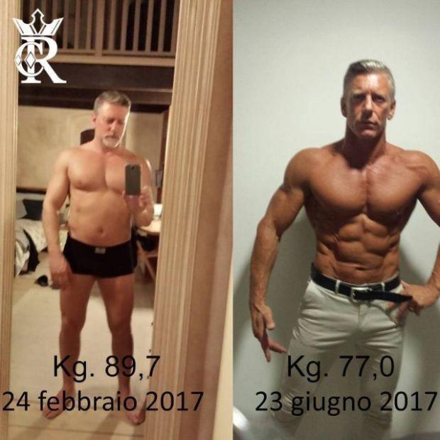 Возраст - не помеха для того, чтобы изменить свое тело (9 фото)