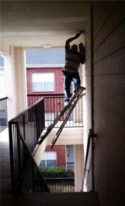 Люди, которые никогда не слышали о технике безопасности (31 фото)