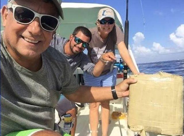 Необычный улов в Атлантическом океане (4 фото)