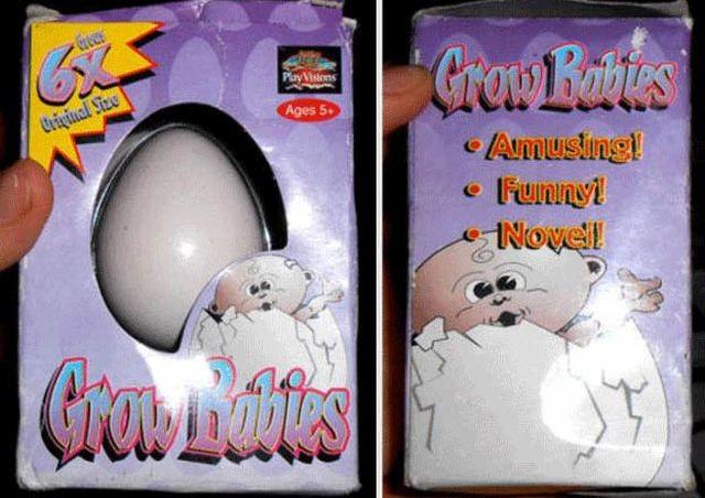 """Странная игрушка: """"Вырасти ребенка"""" (6 фото)"""