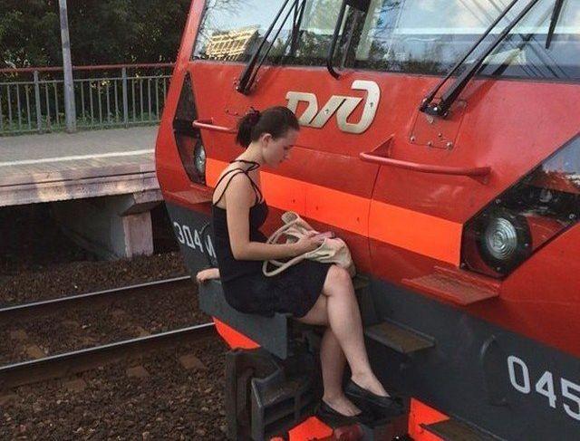 Ужасы отечественных поездов (20 фото)