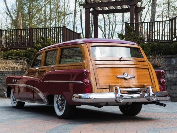 Buick Estate Wagon 1953 - деревянный универсал (10 фото)