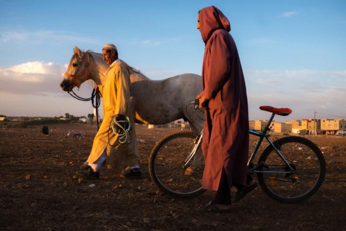 Прогулка по самому большому городу Марокко (10 фото)