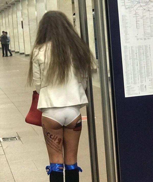 Не все смирились с вылетом сборной России из ЧМ 2018 (2 фото)
