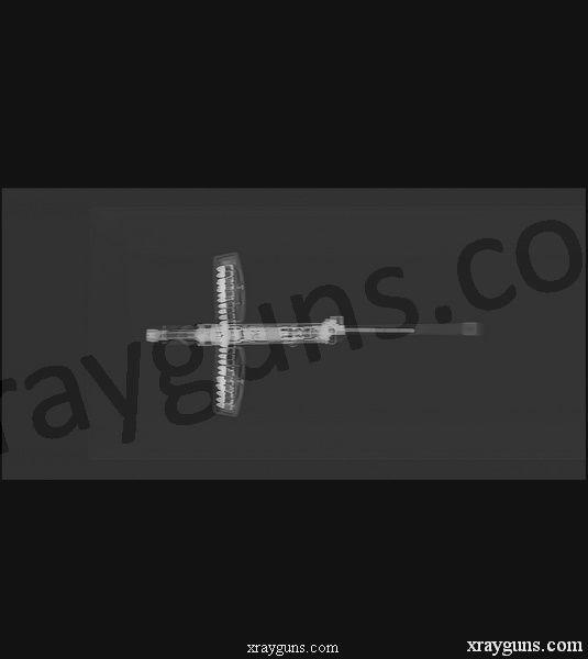 Оружие в лучах ренгена (16 фото)