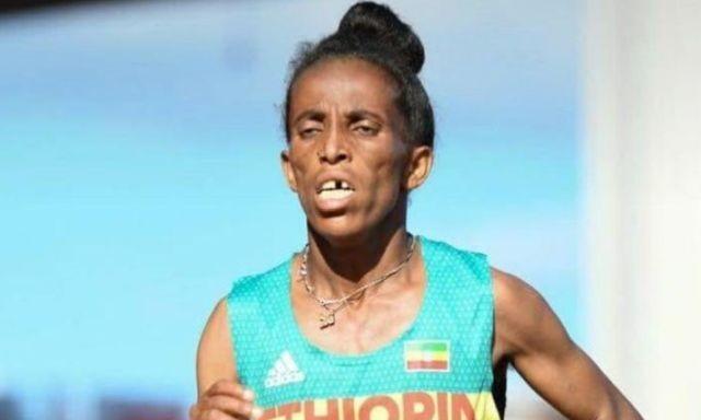 """""""16-летняя"""" эфиопка, взявшая бронзу на молодежном ЧМ (5 фото)"""