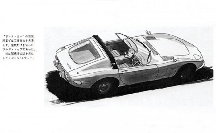 Toyota 2000GT Targa 1966: несостоявшийся автомобиль–актер (16 фото)