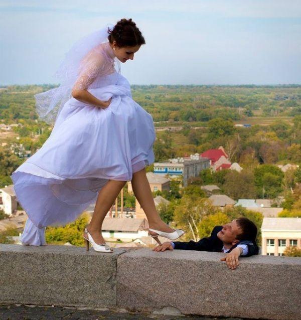 Странные свадебные фотографии (30 фото)