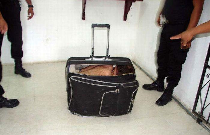 Неудачный побег из тюрьмы (4 фото)