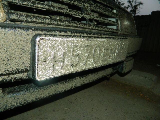 Что произошло с этим автомобилем? (3 фото)